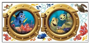 Finding Nemo Portholes Wall Decals