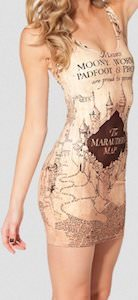 Harry Potter Maurders Map Dress