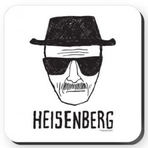 Heisenberg Sketch Coaster