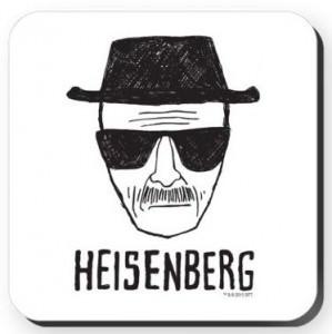 Heisenberg Sketch Coaster