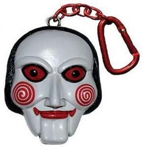 Saw Billy the Jigsaw Puppet Talking Key Chain