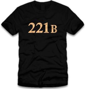 Sherlock 221B Baker Street T-Shirt