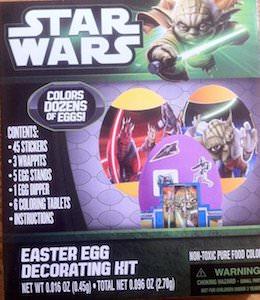 Star Wars Egg Decoration Kit