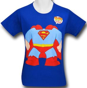 Superman kids costume t-shirt