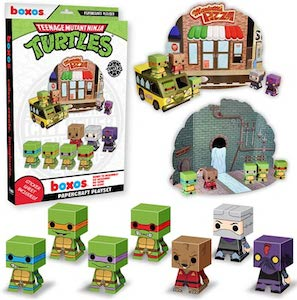 Teenage Mutant Ninja Turtles Papercraft Activity Playset