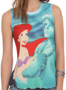 The Little Mermaid Perfect Prince Tank Top