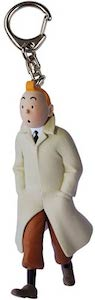 Tintin In Trench coat Key Chain