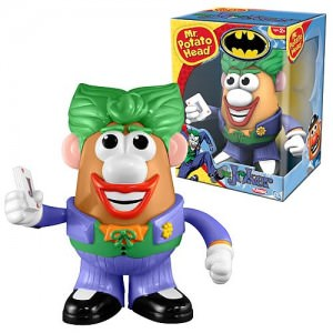 Batman The Joker Mr. Potato Head