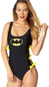 batman one piece bathing suit