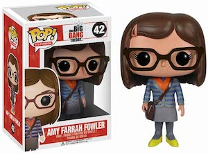 The Big Bang Theory Amy Farrah Fowler pop vinyl Figurine