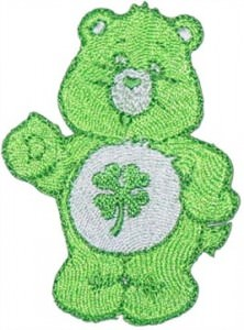 Care Bear Good Luck Bear Patch