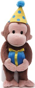 Curious George Birthday Plush