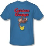 Curious George Hanging Out T-Shirt