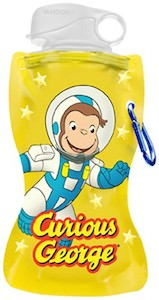 Curious George Collapsible Water Bottle