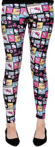 Hello Kitty comic Leggings