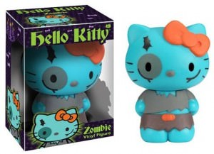 Hello Kitty Zombie Figurine
