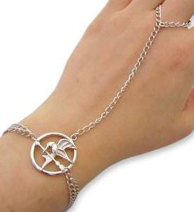 Hunger Games Mocking Jay Ring Bracelet