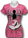 Pink Spider-Man T-Shirt