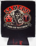 Sons Of Anarchy can koozie