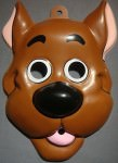 Scooby-Doo pvc mask