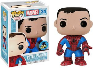 Spider-Man Peter Parker Pop vinyl #34 Figurine