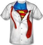 Superman Costume undress t-shirt
