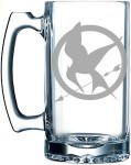 The Hunger Games Mockingjay Logo Beer Stein