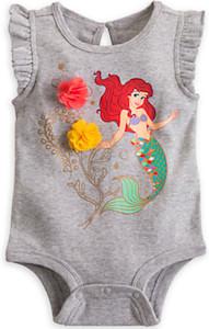 Ariel The Little Mermaid Baby Bodysuit