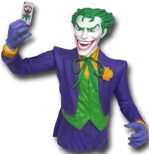The Joker Bust Money Bank from Batman