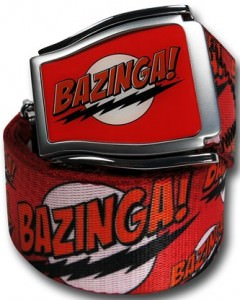 Big Bang Theory Bazinga Belt
