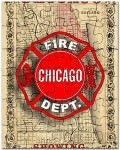 Chicago fire jigsaw puzzle