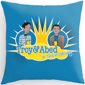 Troy & Abed In The Morning Throw Pillow