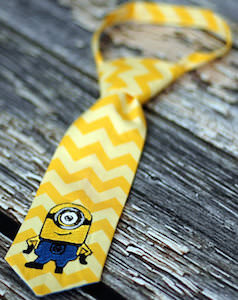 Despicable Me Minion Kids Necktie