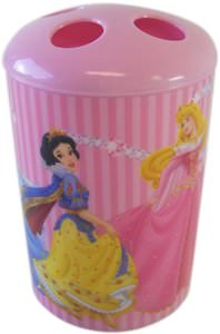 Princess toothbrush holder for kids