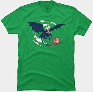 Daenerys On A Dragon T-Shirt