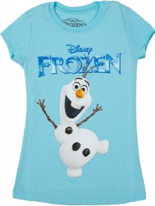 Girls Olaf Frozen T-shirt