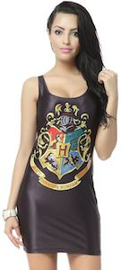 Harry Potter Hogwarts Crest Tank Top Dress