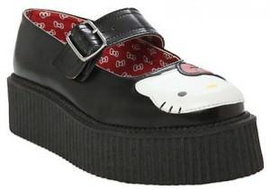 Hello Kitty Platform Shoes