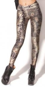 Lord Of The Rings Middle Earth Map Leggings