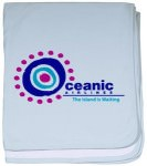 Lost Oceanic Airlines Baby Blanket