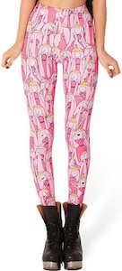 Adventure Time leggings from princess bubblegum