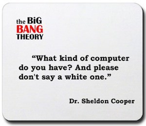 The Big Bang Theory mousepad