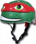 TMNT bicycle helmet that looks like raphael