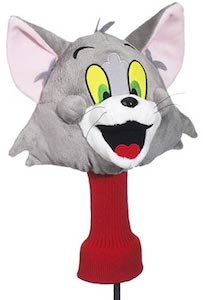Tom And Jerry Golf Club Head Cover Of Tom