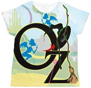 Wizard Of Oz Women's T-Shirt.