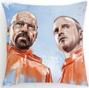 Breaking Bad Walter And Jesse Pillow