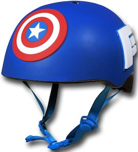 Captain America bicycle Helmet