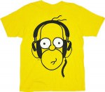 The Simpsons yellow homer t-shirt
