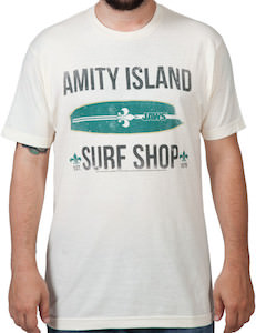 Jaws Amity Island Surf Shop T-Shirt
