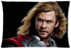 Thor movie pillow case